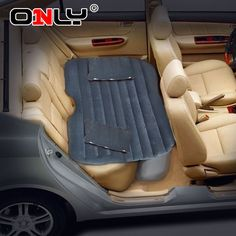 Only(R) Car Mobile Cushion Air Bed Bedroom Inflation Travel Thicker Mattress Back Seat Extended Mattress