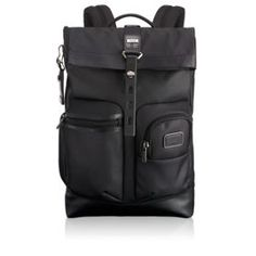 50123c4e6c7 Luke Roll Top Backpack in Reflective Silver Cool Backpacks For Men