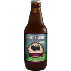 Cerveja Frutas de Jardim - Amora, estilo Saison / Farmhouse, produzida por Cervejaria Tupiniquim, Brasil. 4.5% ABV de álcool.