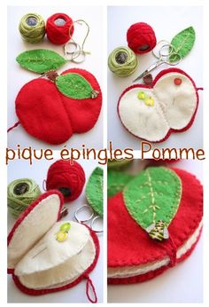 great teachers gift - mini sewing kit! made of felt, use any apple 'clipart…
