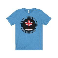 BritCan Unisex Jersey Short Sleeve Tee