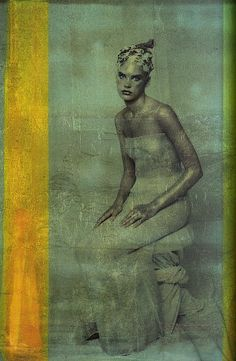 """""""Platinum"""" Vogue Italia September 1997 by Paolo Roversi"""