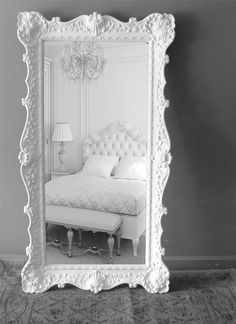 The Large Elegant Mirrors Large Elegant Wall Mirrors Best Floor Mirrors Ideas On Large Floor New contemporary elegant design small decorating house interior design apartment decoration large room pictures wallpaper hd My New Room, My Room, Leaning Floor Mirror, Standing Mirror, Floor Mirrors, Big Mirrors, Vintage Mirrors, Wall Mirrors, Beautiful Mirrors