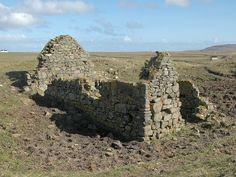 Ruins of Kilkenneth Chapel, a photograph from the Isle of Tiree Kilkenneth chapel on the Isle of Tiree is dedicated to Saint Kenneth, a contemporay of Saint Columba.