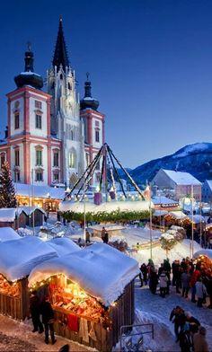 Christmas at Mariazell Basilica, Austria