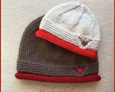 "Hat ""Sweetheart"" pattern by Yelena Chen - Knitting Patterns Baby Hats Knitting, Knitting Charts, Loom Knitting, Knitting Socks, Knitting Patterns Free, Free Knitting, Knitted Hats, Crochet Patterns, Hat Patterns"