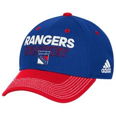 Adult Adidas New York Rangers Locker Room Flex-Fit Cap, Men's, Size: L/XL, Ran Blue