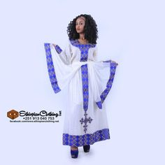 eritrean traditional zuria, Handwoven fabric Hand embroidered Includes netela/shawl Made to order Processing time 2 – 4 weeks Measurement required