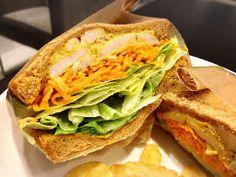 ピエール マルコリーニとのコラボチョコレートも! ボリュームサンドが魅力満載の『バーニーズ カフェ』 Sandwiches, Dressing, Twitter, Food, Essen, Meals, Paninis, Yemek, Eten