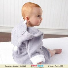 1a2b56ec1d Infant Kids boys girls Animal Baby bathrobe baby Long Sleeves hooded bath  towel infant bathing Clothing