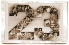 Sepia Old Fashion Custom Alphabet Collage by picketfencecrafts, $199.95