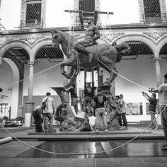 #Terra de #JavierMarín en el #PalaciodeIturbide en el Centro Histórico de la #cdmx. #CORPUSTERRA