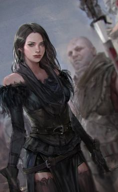Yennefer by sungryun park : witcher Fantasy Women, Fantasy Girl, Dark Fantasy, Dnd Characters, Fantasy Characters, Female Characters, The Witcher Books, The Witcher 3, Character Portraits