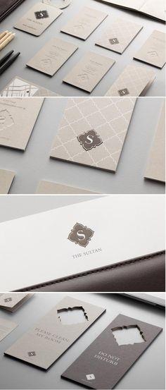 The Sultan Hotel branding/design. Work done under Manic Design.