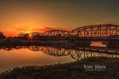 Photograph Sunset bridge by Ron Lane on 500px