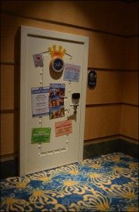 Pepe from the Muppet's has his own room on the Disney Fantasy Cruise Ship.  How Cute.