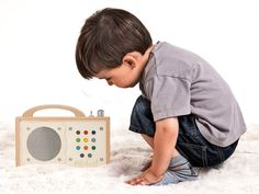 WOW, world's most gorgeous wooden mp3 player for children