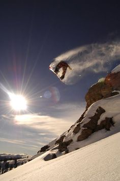 Jesse Csincsak Dropping Cliffs in the Colorado Backcountry #snowboard #snow #backcountry
