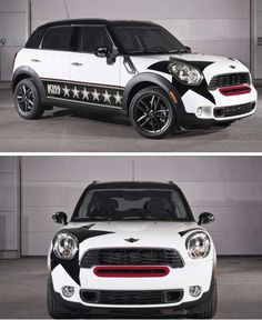 41 Amazing Mini Cooper Creations - From Rock Band Car Branding to Naughty Auto Ads (CLUSTER)