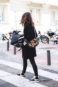 black x leopard