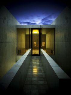 Azuma House (1976) by Tadao Ando