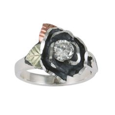 Black Hills Gold® Rose Cubic Zirconia Ring  found at @JCPenney