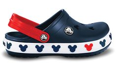 Mickey Mouse crocs for Squish - So, I own beige MM crocs, but I would love to have these, too...