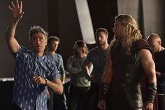 Marvel Studios has offered up a hint at what Chris Hemsworth's Thor and Mark Ruffalo's Hulk will be up to in 'Thor: Ragnarok,' Taika and Chris Hemsworth. Dreamy.
