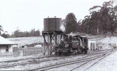 Erica Railway Station - Moe to Walhalla line Melbourne Victoria, Steam Engine, Amazing Pics, Steam Locomotive, Australia Travel, Vr, Old Photos, Abandoned, Trains