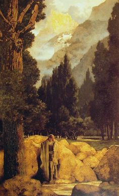 Poets' Dream by Maxfield Parrish #art