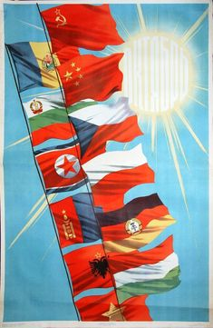In Victory of Communism's Immortal Ideals Communist Propaganda, Propaganda Art, Soviet Union Flag, Che Guevara Images, Back In The Ussr, Flag Art, Communism, Flag Design, National Flag