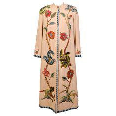 Crewel Embroidered Coat