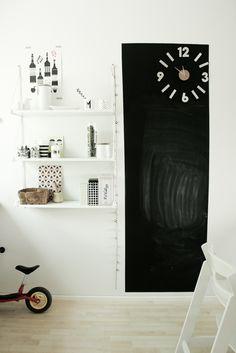 Black board.