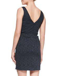 Sleeveless Lace Dress, Eclipse