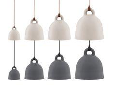 Norman Copenhagen Lámpara Bell Pendant Lamp, Pendant Lighting, Lamp Light, Ceiling Lights, Stone, Copenhagen, Norman, Dental, Design