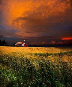 Homestead by  Phil Koch by lizzie