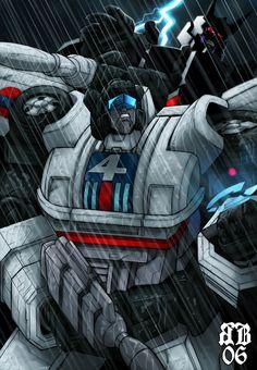 Jazz & Galvatron - Transformers - Ryan Button