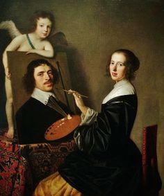 Gerard van Honthorst: Allegory of Painting By Gerard van Honthorst