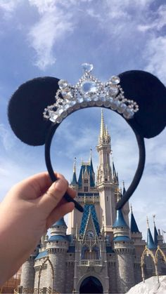 Gorgeous Tiara Minnie Mouse ears Headband by MinnieTiaras on Etsy https://www.etsy.com/listing/242456289/gorgeous-tiara-minnie-mouse-ears