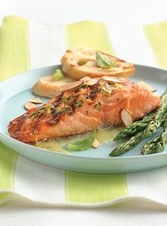 Pairing fish with citrus guarantees great flavor. We used oranges and basil to make a tangy compound butter for grilled salmon.