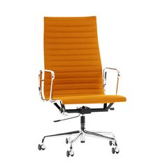 Epic High Back Ribbed Chair on Castors with Arms UK exclusive Chairs Office