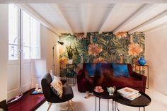 Casinha colorida: Um loft algo retrô