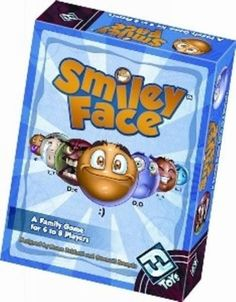 SMILEY FACE Family Card Game Fantasy Flight Games NEW