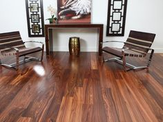 Rosewood floor - contemporary - wood flooring - Paul Anater