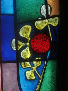 Stylized Pomegranate, Coventry Cathedral