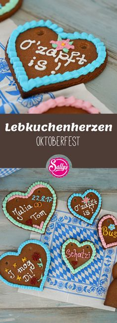 Why buy gingerbread hearts when you can bake them yourself? Advantage: You can decorate and label them as you like! Tapas, Avocado Pear, Christmas Biscuits, Best Diet Plan, Summer Parties, Kefir, As You Like, Fruits And Veggies, Dessert Table