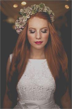 wedding makeup redhead best photos - wedding makeup - cuteweddingideas.com