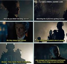 """""""The whole city is a machine to turn people into Cybermen."""""""