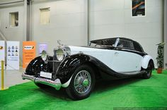 1935 Hispano-Suiza K6. They say each car of this car maker is unique because it manufactured just the chassis while bodies were made by other companies.
