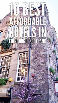 In this post, I wanted to share with you 10 best affordable hotels in Edinburgh, Scotland. It's not a secret that due to the weak British pound, Edinburgh. Scotland Vacation, Scotland Travel, Ireland Travel, Scotland Trip, Castle Scotland, Visiting Scotland, Scotland Nature, Scotland Hiking, Scotland Tours
